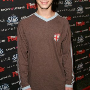 Justin Berfield at Teen People's 2003 Artist of the Year After Party
