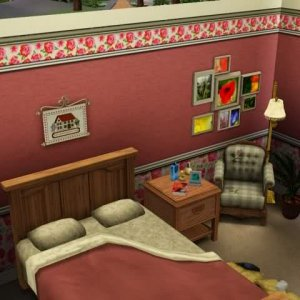 The Wilkerson House: virtual Sims3 3D-recreation by CarynColleen