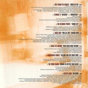 Music from Malcolm in the Middle - Soundtrack - CD - Booklet Back - Page 1