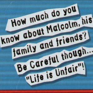 Malcolm in Middle Board Game - Side 3