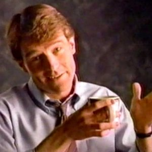 Bryan Cranston in Carnation Coffee-mate commercial (1988)
