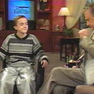 Frankie Muniz on Live with Regis and Kathie Lee (2000)