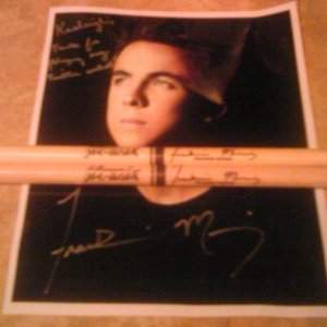 Photo and Frankie's 'You Hang Up' Drumsticks
