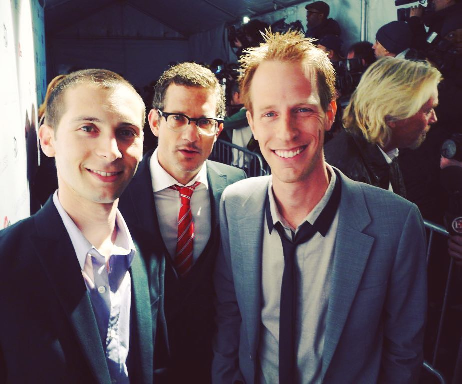 Justin Berfield and Jason Felts at the 'Limitless' movie premiere